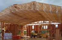 roof truss image for all truss california